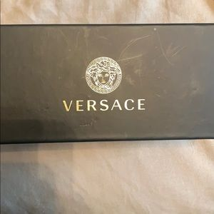 Versace Shades model VE2163 63, Gld Blk, Gry